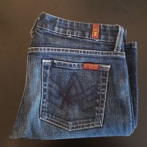 Womens 7 for all mankind bootcut jeans